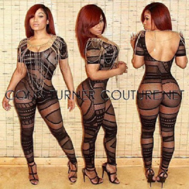 jumpsuit bodystocking