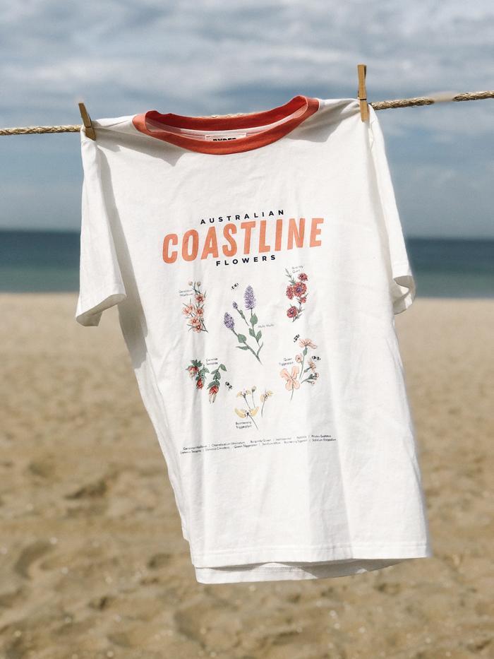 Coastline Flowers Tee