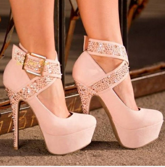 shoes prom high heels pink shoes glitter girly stillettos glitter heels glitter shoes prom shoes