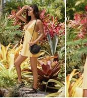 dress,urban outfitters,yellow,yellow dress,fashion,fall outfits,boho dress