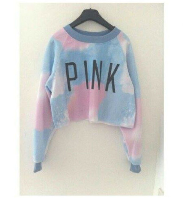 pink sky sweater hippie hipster