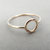 Circle Ring, Stacking Rings, Eternity Rings, Gold Circle Rings, Simple Modern Rings, Karma Circle Ring, Minimalist Jewelry, Karma Ring