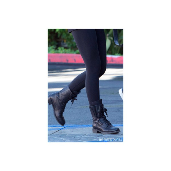 leggings black thick