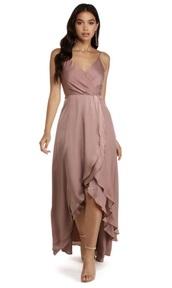 dress,wrap dress