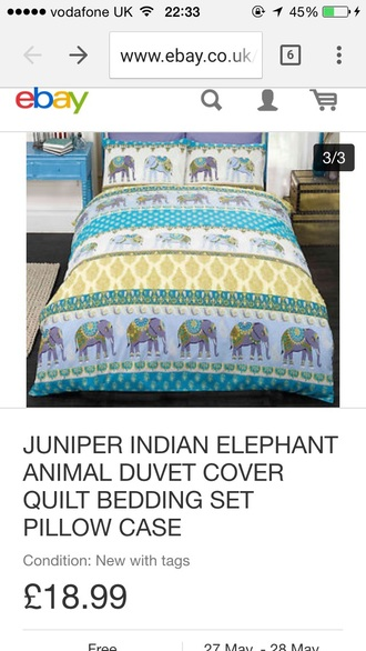 home accessory bedding elephant boho