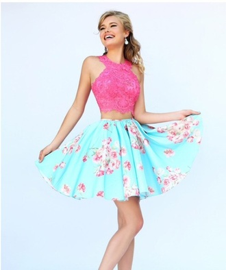 fashuion fashion pretty little liars pink dress pink sunglasses blue dress blouse blue skirt pin up summer dress barbie white dress girly