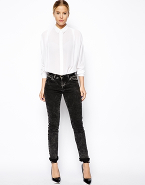 ASOS | ASOS Blouse with Pleat Front and Batwing Sleeve at ASOS