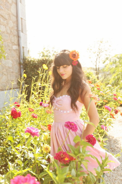the cherry blossom girl dress