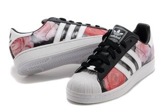 shoes adidas adidas shoes adidas superstars adidas originals multicolor multicolor sneakers rose black red