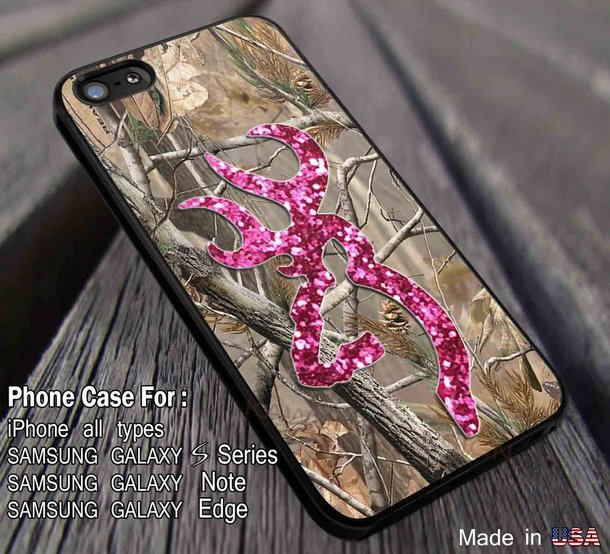 Camo Browning Galaxy iphone case