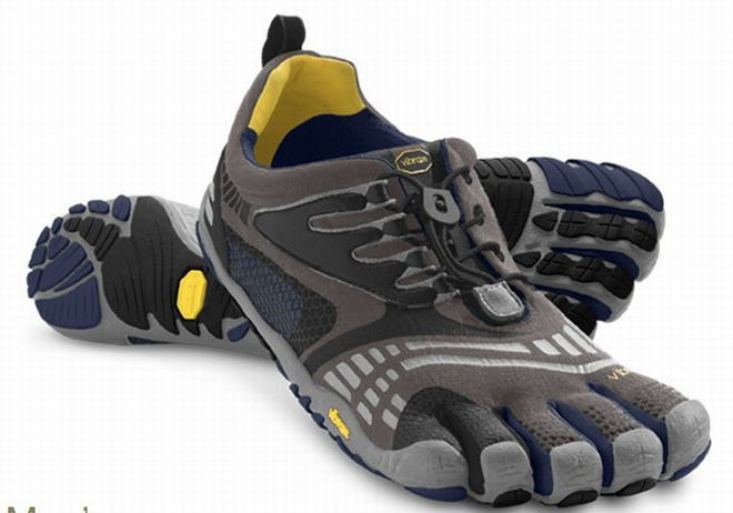 five fingers komodosport ls castle rock navy grey shoes for male