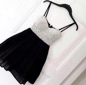 dress black silver style black dress