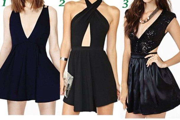 dress little black dress cute dress