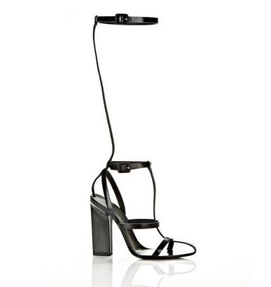 Sexy Gladiator Bandage Sandals White Black Knee High Platform Sandals Heels Boots
