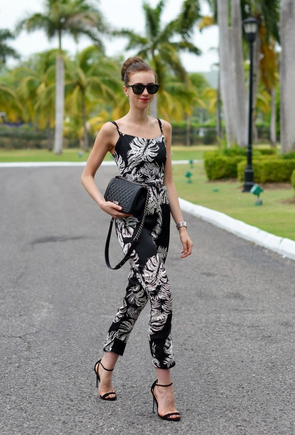 vogue haus jumpsuit shoes bag jewels sunglasses