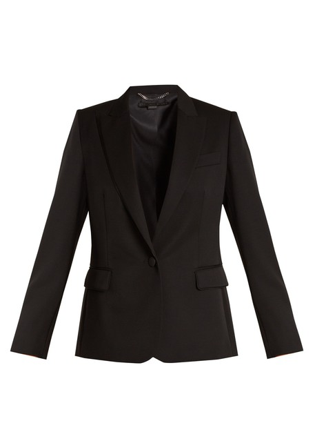 Stella McCartney jacket wool jacket wool black