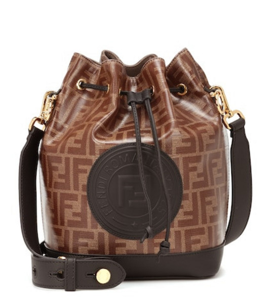 Fendi Mon Tresor bucket bag in brown