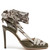 Python-print ribbon d'Orsay leather pumps