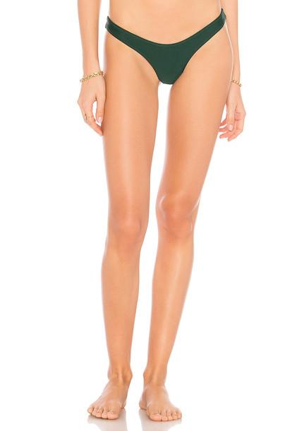 Stone Fox Swim bikini dark green swimwear