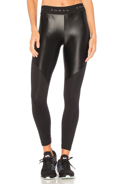 Koral black pants