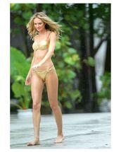 swimwear,metallic swimsuit,metallic bikini,bikini,bikini top,bikini bottoms,model,candice swanepoel