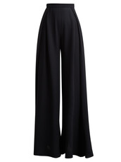 pleated,high,navy,pants