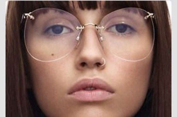 glasses sunglasses clear style hippie