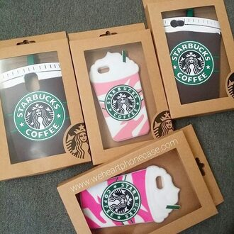 phone cover starbucks coffee pink iphone cover iphone case iphone 5 case iphone 6 case iphone 6 plus cases samsung s5 case fashion case cute phone case