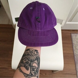 hat cap purple fashion style cool summer spring teenagers boogzel