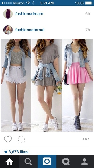 skirt summer skirt style spring skirt spring spring outfits spring break outfit tumblr outfit tumblr pastel pink skirt gorgeous beautiful cool trendy fashion jacket shorts