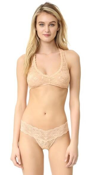 bra back blush underwear