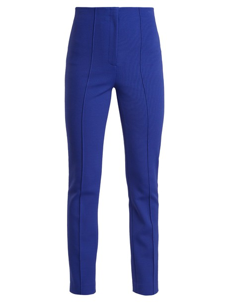 high blue pants