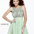 Serendipity Prom -Sherri Hill 11032 cocktail dress - Sherri Hill Fall 2013 - sherri11032green