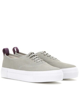 suede sneakers sneakers suede grey shoes