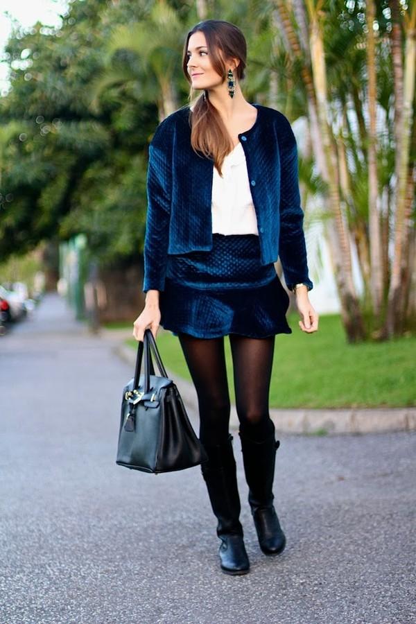 marilyn's closet blog skirt jacket blouse jewels shoes