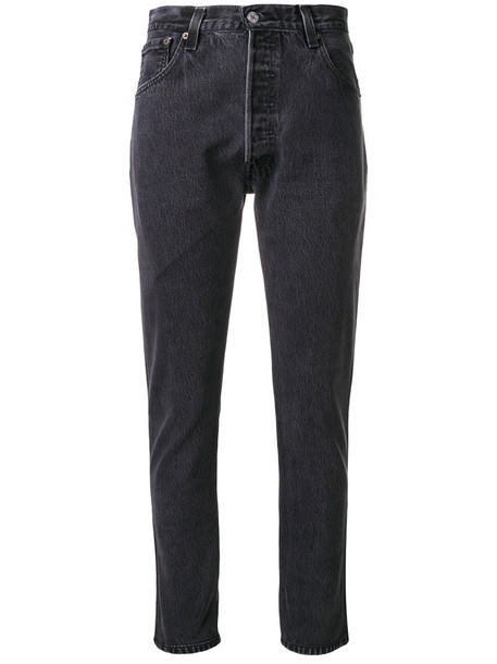 Re/Done jeans women classic cotton black