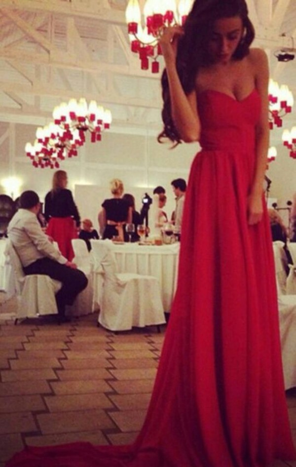 dress red dress red long dress long prom dress long prom dress dress cute dress