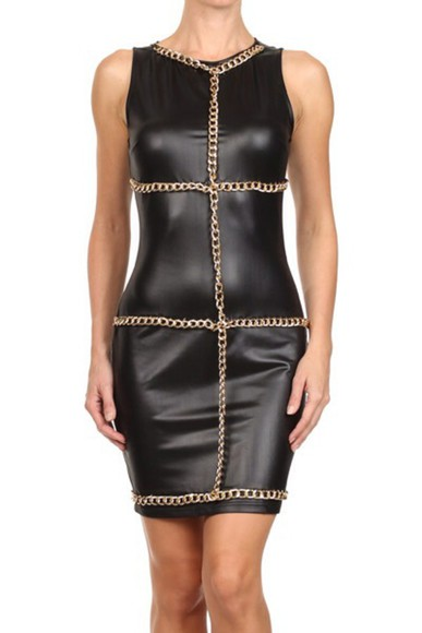 chain gold fashion dress lovely pepa belt