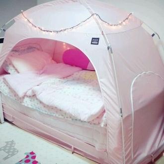 home accessory pink tent tent pink cute nude pink home bedding bedroom tumblr bedroom teen bedrooms pillow sleeping set