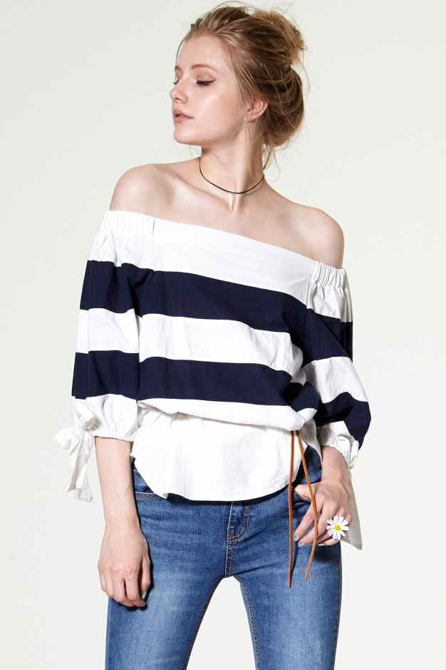 striped top Discover the latest fashion trends online at storets.com