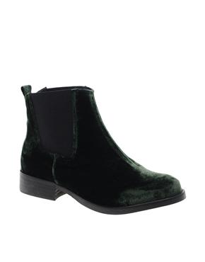 Miista   Miista Esmerelda Flat Leather Boot at ASOS