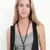 Gypsy05.Com - Official Website :: Shop Women Jewelry - Braided Leaf Necklace in Black/Gold