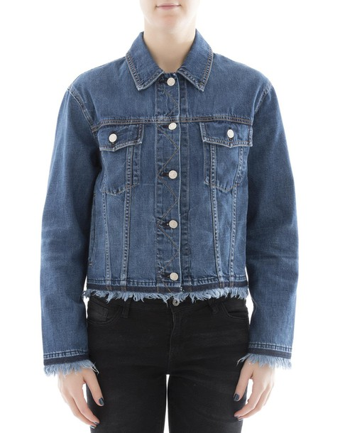 Rag & Bone jacket cotton blue