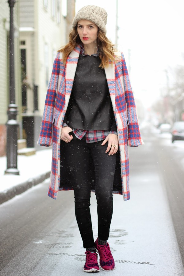 jess style rules shoes jeans coat sweater shirt hat