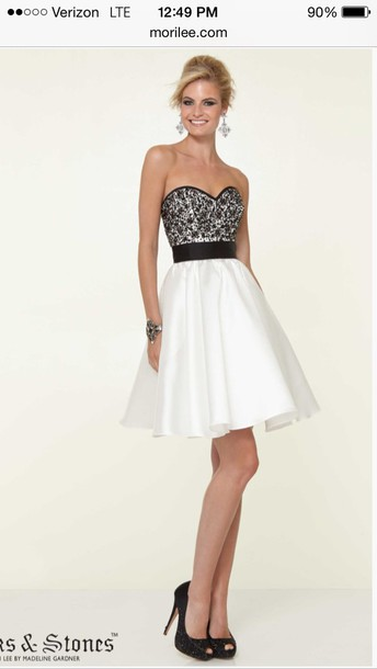 dress black dress white dress