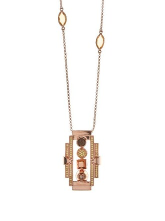 pearl necklace gold rose gold rose jewels