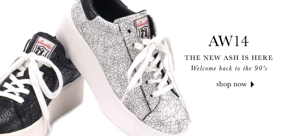 Ash Footwear Online | Mens Ash Shoes & Womens Ash Shoes | Buy Ash Shoes Online