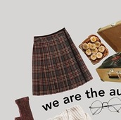 skirt,kilt skirt,hipster,preppy,grunge,fall outfits,autumn/winter