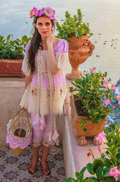 Blusa Shabby Chic 39, Blusas - Ropa de viaje, ropa de crucero, ropa de vacaciones -  Travel Wear Miro