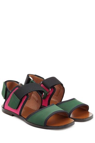 colorblock sandals multicolor shoes